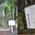 Photos: 烏頭坂 島津中務大輔豊久之碑(大垣市)