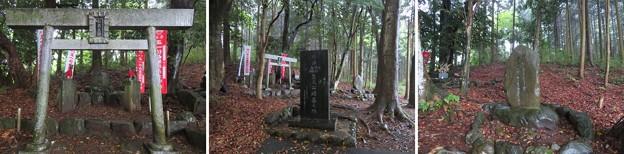 島津塚(島津豊久墓。大垣市)