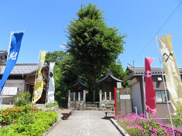 関ヶ原合戦 西首塚(関ケ原町)