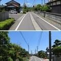 写真: 不破関関庁跡(関ケ原町)前より東西
