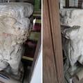 雄山神社 前立社殿(立山町岩峅寺1)狛犬