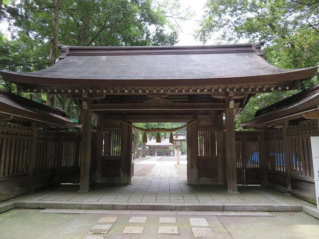 雄山神社 前立社殿(立山町岩峅寺1)東神門
