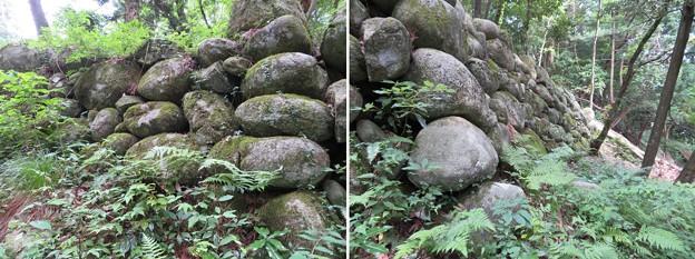 石の門砦(松倉城支城。魚津市)