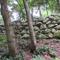 写真: 石の門砦(松倉城支城。魚津市)