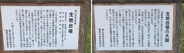 生地台場(黒部市)