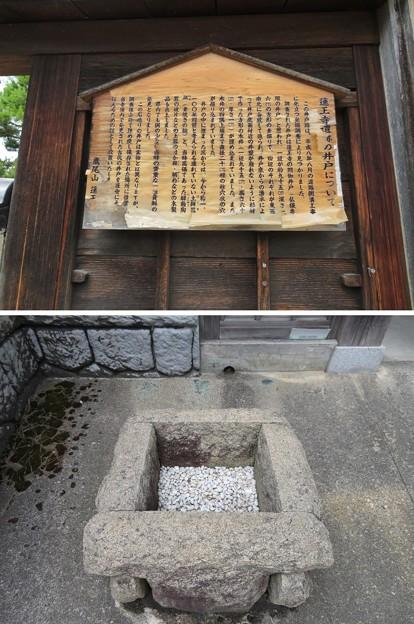 蓮王寺(射水市)井戸
