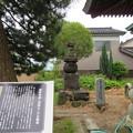 蓮王寺(射水市)藤原秀郷供養塔