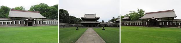 瑞龍寺(高岡市関本町)禅堂・仏殿・大庫裏