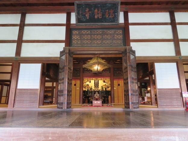 瑞龍寺(高岡市関本町)法堂