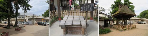 高岡城(高岡市。高岡古城県定公園)三の丸井戸