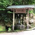 写真: 気多神社(高岡市伏木一宮)気多神社の清泉