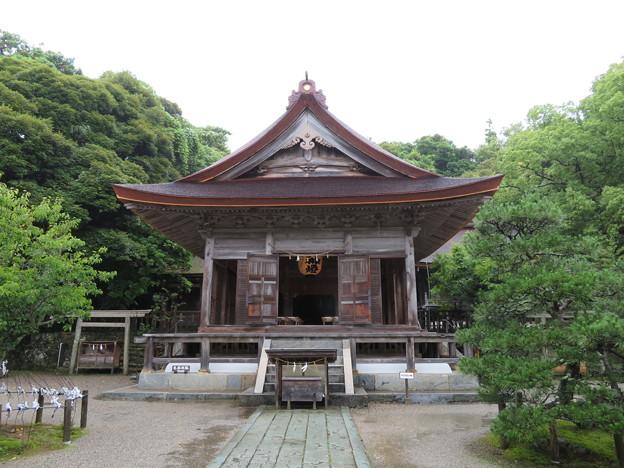 写真: 氣多大社(羽咋市)拝殿