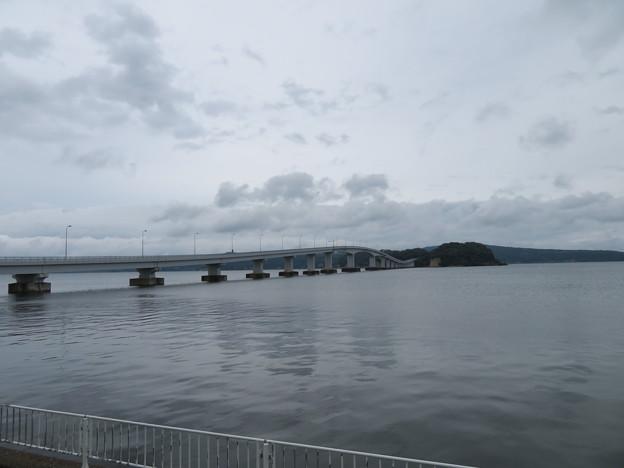 能登島大橋(七尾市)南詰