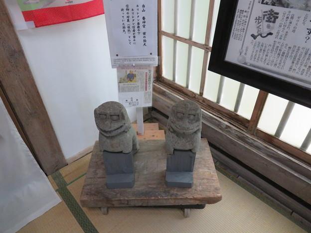 山の寺寺院群 本行寺(七尾市)狛犬