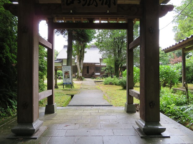山の寺寺院群 長齢寺(七尾市)山門