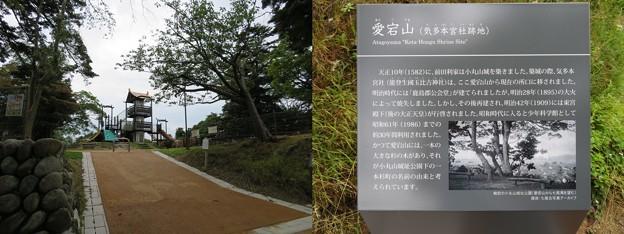 小丸山城(七尾市営 小丸山城址公園)宮丸