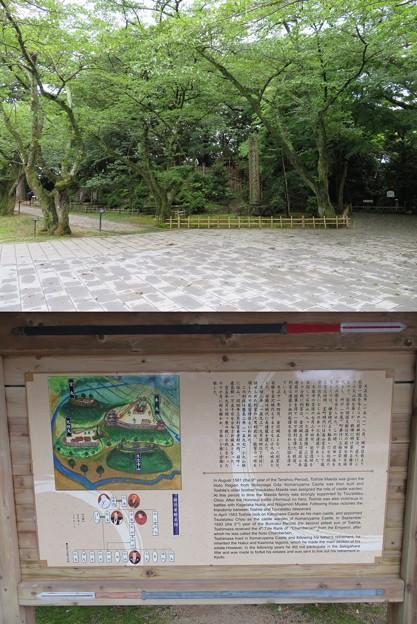 小丸山城(七尾市営 小丸山城址公園)櫓台