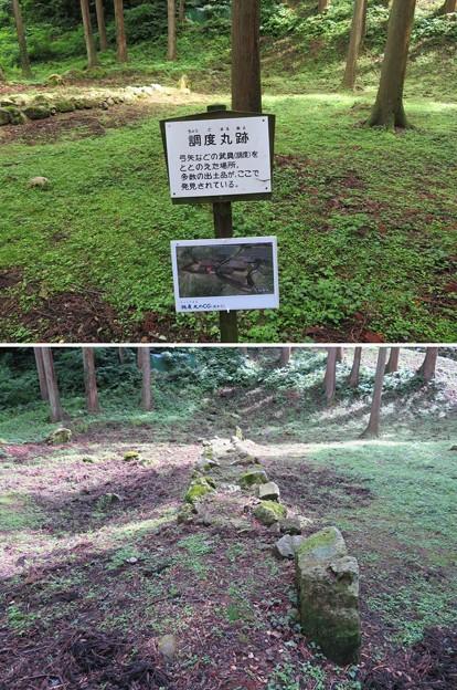 七尾城(石川県)調度丸