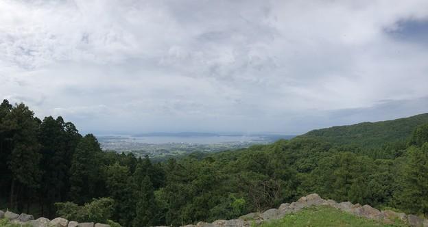 七尾城(石川県)本丸より
