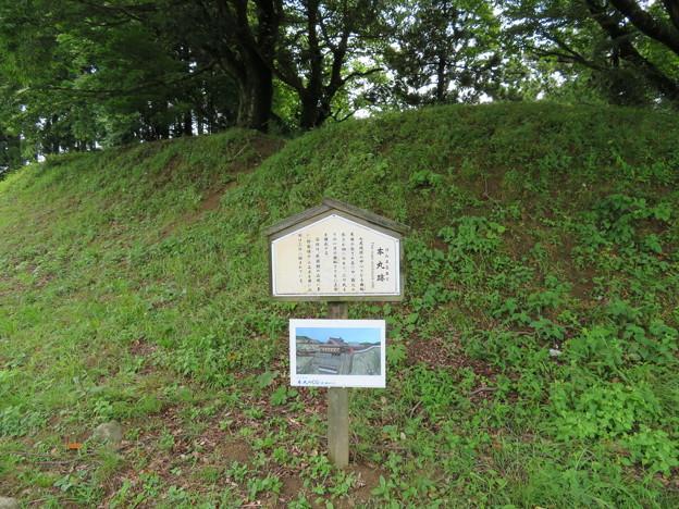 七尾城(石川県)本丸城塁
