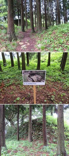 七尾城(石川県)桝形