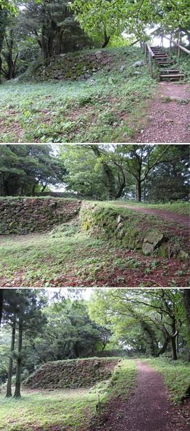 七尾城(石川県)温井屋敷
