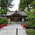 写真: 高瀬神社(南砺市)拝殿
