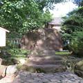 写真: 高瀬神社(南砺市)茶筅塚