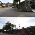 写真: 真宗大谷派 井波別院瑞泉寺(南砺市)石垣(大楼壁)