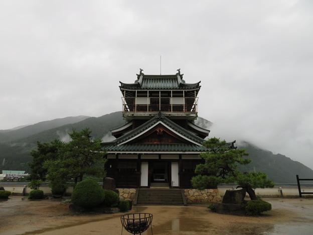 神岡城(飛騨市)模擬天守