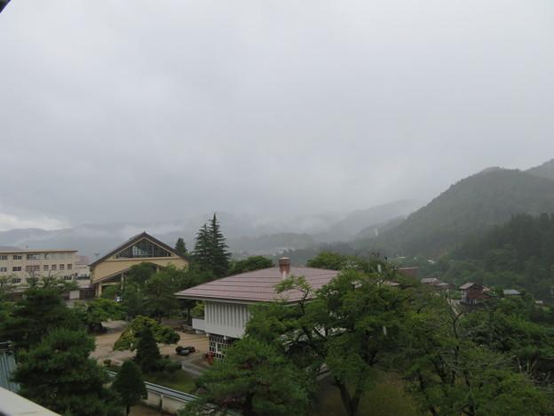 神岡城(飛騨市)より南