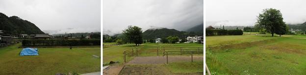 写真: 江馬氏館(飛騨市。江馬氏館跡庭園)