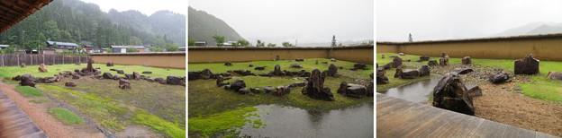 江馬氏館 会所(飛騨市)庭園
