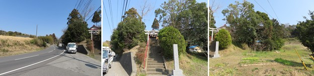 庁南城(長生郡長南町)西谷/西谷八坂神社