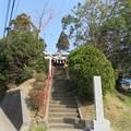 Photos: 庁南城(長生郡長南町)西谷/西谷八坂神社