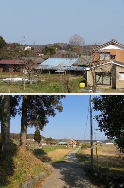 東長寺(大多喜町)より根古屋城