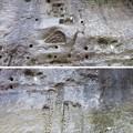 Photos: 地磁気逆転地層(チバニアン。千葉県市原市)