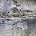 地磁気逆転地層(チバニアン。千葉県市原市)