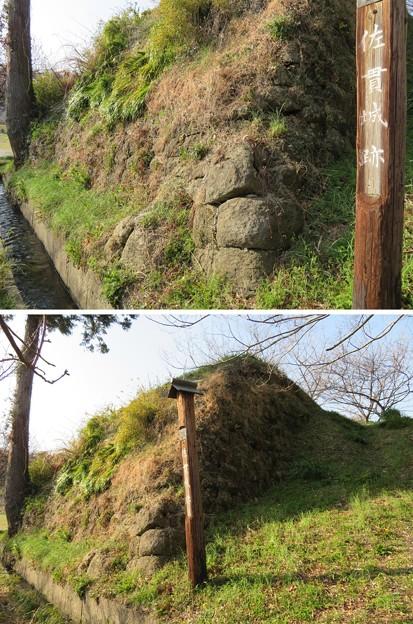佐貫城(富津市)櫓台跡
