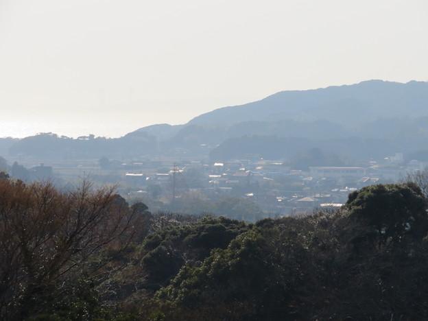 Photos: 佐貫城(富津市)本丸南物見台より