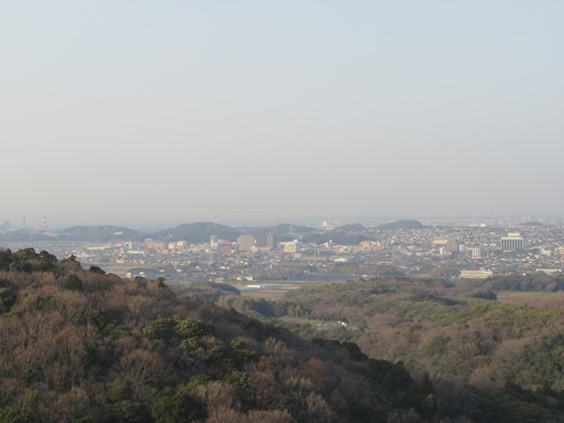 Photos: 三舟山展望台(君津市)より
