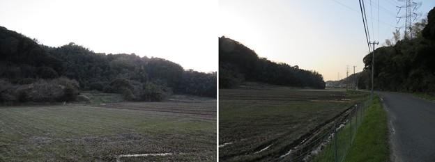 三船山古戦場(富津市)三舟山南麓