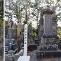 本土寺(松戸市)秋山虎康墓