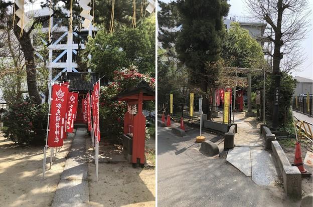 松先稲荷神社(千葉県松戸市)