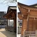 松戸神社(千葉県)秋葉神社・神楽殿