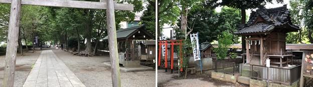 平塚神社/平塚城跡(北区)摂末社