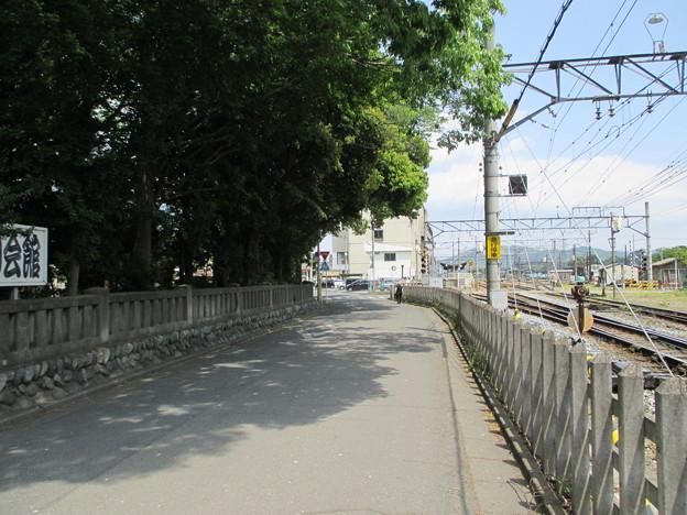 秩父鉄道沿い(秩父駅南。埼玉県)