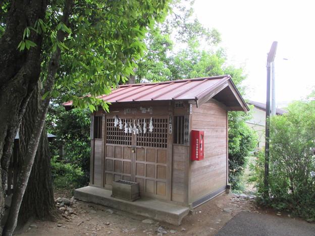 定林寺(秩父市)諏訪社