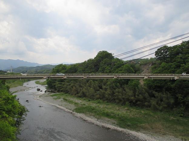 旧秩父橋より新秩父橋(埼玉県)