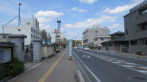 御花畑駅近く(秩父市東町)